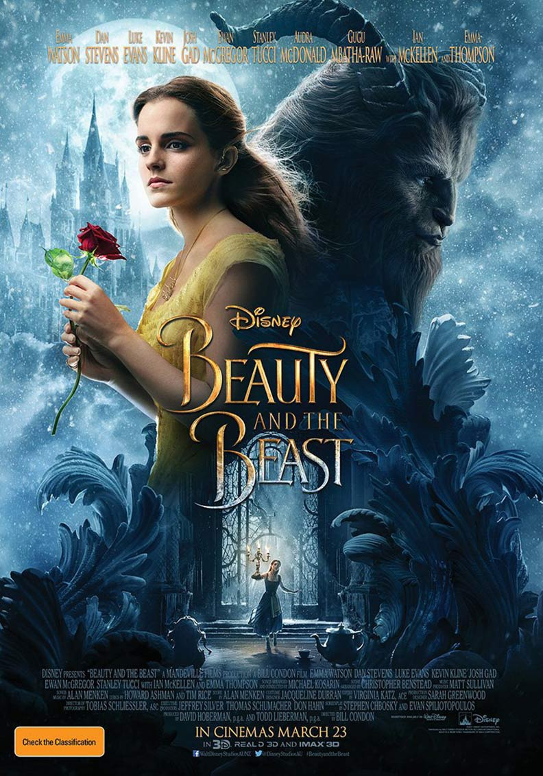BEAUTY & THE BEAST – 2017 (PG)