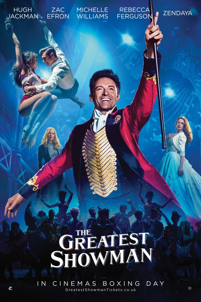 THE GREATEST SHOWMAN (PG) 2017