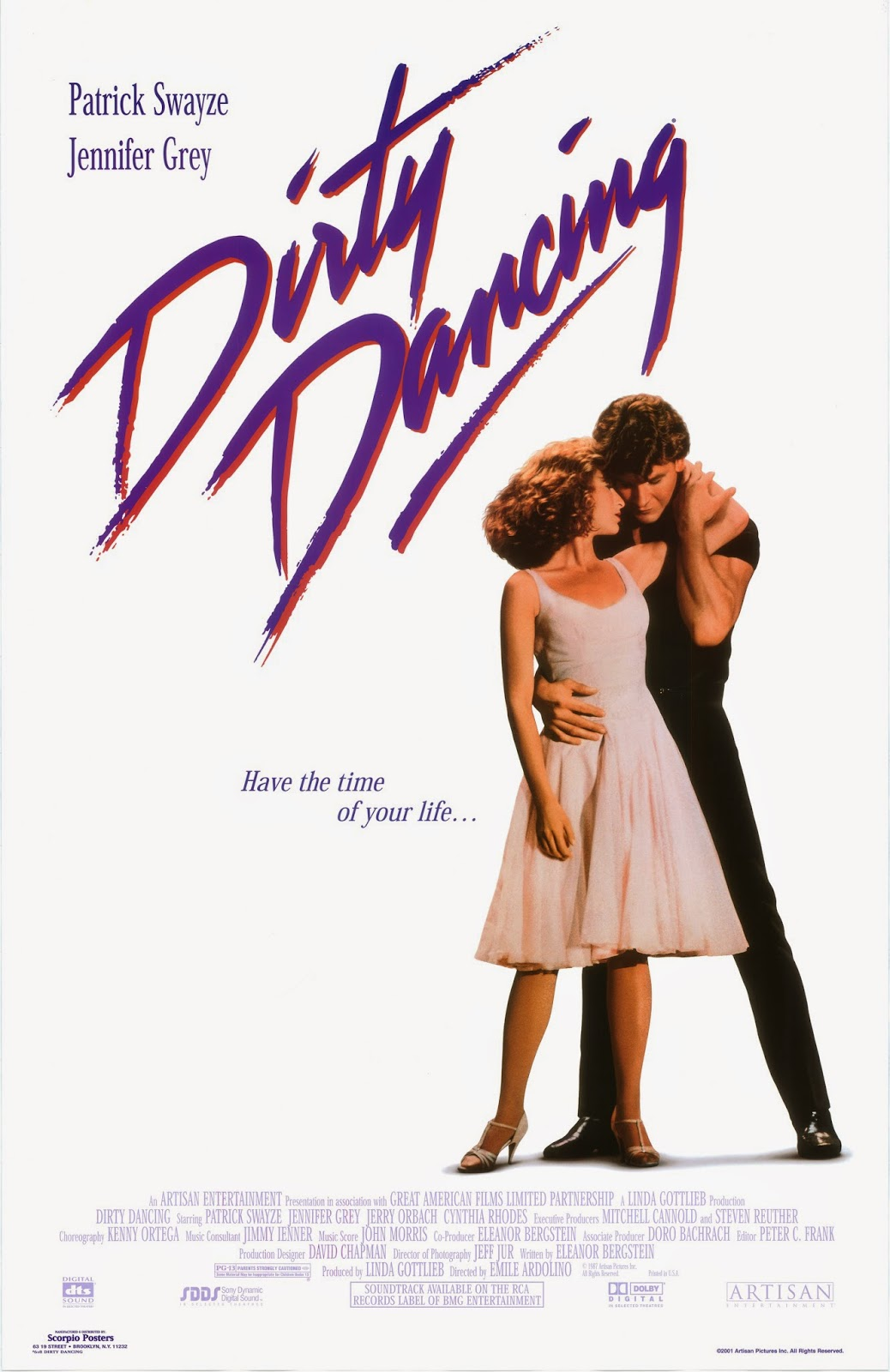 DIRTY DANCING (12A) 1987