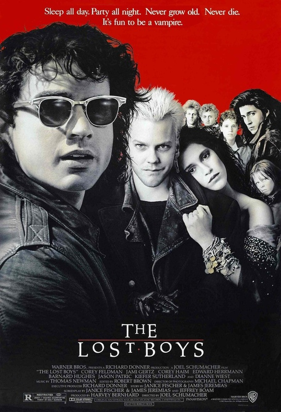 THE LOST BOYS (15) 1986