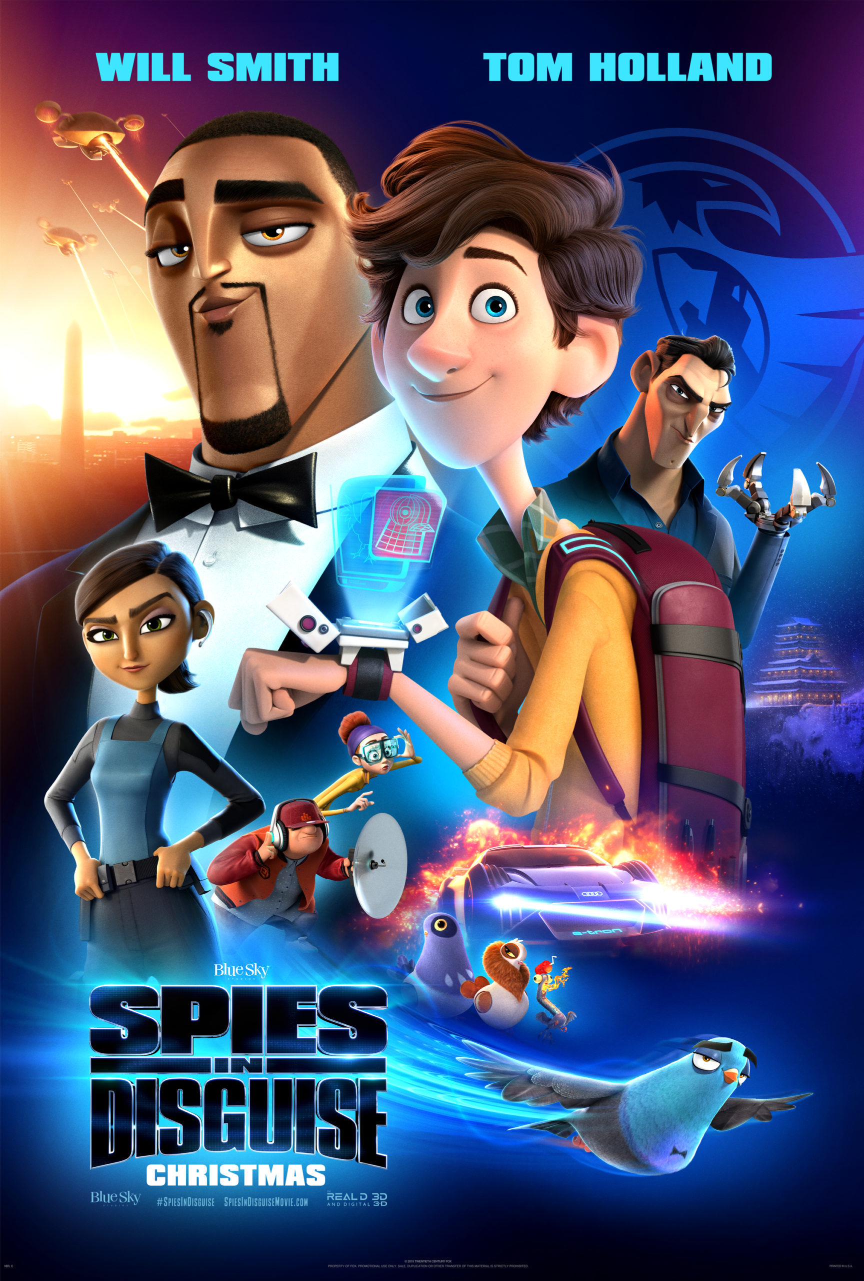 SPIES IN DISGUISE (PG) 2019